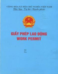 Thủ tục, hồ sơ xin cấp giấy phép lao động