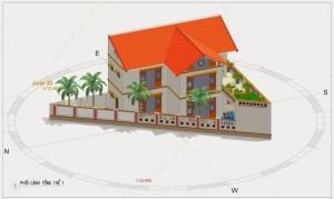 Diện tích xây nhà tối đa trên đất ở.