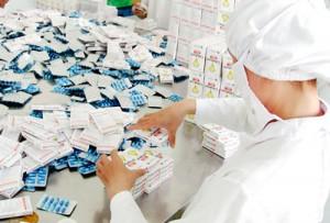 Doanh nghiệp sản xuất thuốc